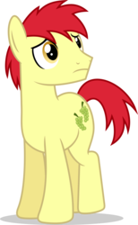 Size: 7000x11373   Tagged: safe, artist:luckreza8, don neigh, earth pony, pony, the saddle row review, .svg available, absurd resolution, inkscape, male, missing accessory, simple background, solo, stallion, transparent background, vector, wrong eye color
