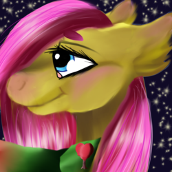 Size: 1730x1730 | Tagged: safe, artist:brainiac, fluttershy, tree hugger, cute, female, flutterhugger, icon, implied, lesbian, shipping, solo