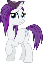 Size: 1564x2311 | Tagged: safe, artist:cheezedoodle96, artist:luckreza8, edit, vector edit, rarity, pony, unicorn, the cutie re-mark, .svg available, absurd resolution, alternate timeline, crystal war timeline, female, inkscape, looking up, mare, nude edit, raised hoof, simple background, solo, svg, transparent background, unhappy, vector