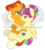 Size: 2785x3073 | Tagged: safe, artist:flurrypastels-mlp, sour sweet, sunburst, equestria girls, crack shipping, cuddling, equestria girls ponified, female, male, ponified, shipping, sourburst, spooning, straight, watermark