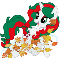 Size: 3000x3000 | Tagged: safe, artist:sunley, gusty, pony, unicorn, female, g1, g1 to g4, g4, generation leap, leaves, mare, simple background, solo, transparent background, wind