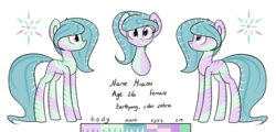Size: 1024x492 | Tagged: safe, artist:despotshy, oc, oc only, oc:miami, reference sheet, simple background, solo, transparent background