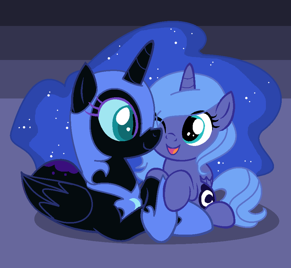 Nightmare Moon As A Filly | www.pixshark.com - Images ...