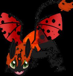 Size: 900x941 | Tagged: safe, artist:evilfurryskull, oc, oc only, changeling, changeling oc, orange changeling, solo