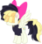 Size: 7676x7994 | Tagged: safe, artist:pink1ejack, songbird serenade, my little pony: the movie, absurd resolution, clothes, hair bow, movie designs, sia (singer), simple background, solo, transparent background, vector
