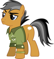 Size: 6959x7658 | Tagged: safe, artist:pink1ejack, quibble pants, stranger than fan fiction, absurd resolution, clothes, inkscape, raised eyebrow, simple background, solo, that was fast, transparent background, vector