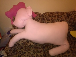 Size: 3264x2448 | Tagged: safe, artist:ponylover88, pinkie pie, irl, photo, plushie, wip