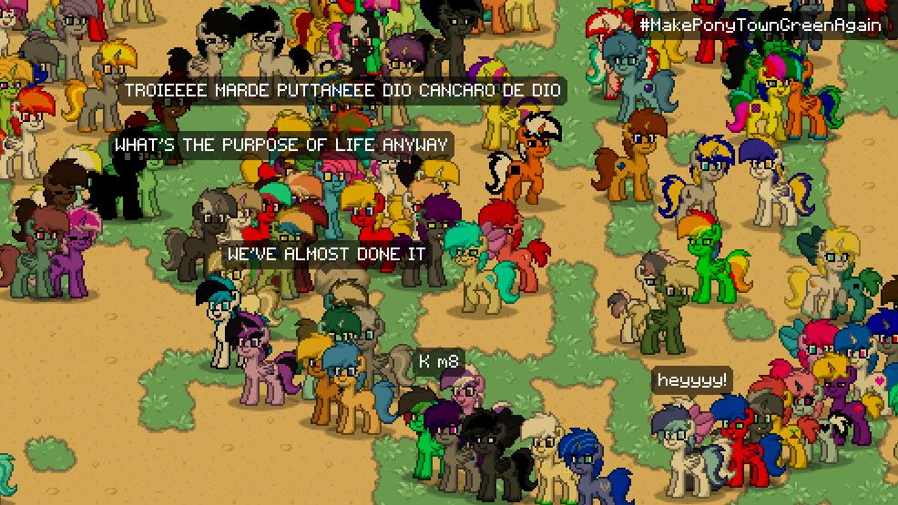 1192778 Cancaro Man Maud Pie Nihilism Oc Pony Pony Town Safe