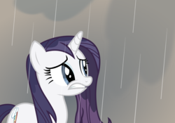 Size: 9251x6479 | Tagged: safe, artist:iphstich, rarity, magical mystery cure, absurd resolution, swapped cutie marks, wet, wet mane, wet mane rarity