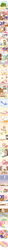 Size: 620x19321 | Tagged: safe, artist:howxu, angel bunny, applejack, discord, fluttershy, harry, pinkie pie, rainbow dash, rarity, twilight sparkle, bird, cat, chicken, mouse, squirrel, angelbetes, bed, chicken coop, comic, crescent moon, cute, daaaaaaaaaaaw, dentist, doctor, door, eyes closed, facehoof, feels, flower, gameloft, happy, hnnng, howxu is trying to murder us, injured wing, kissing, mane six, moon, nurse outfit, pointy ponies, rainbow dash always dresses in style, recipe, shyabetes, sick, sleeping, sticky note, thumbnail is a stick, weapons-grade cute