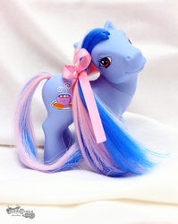 Size: 3456x4344 | Tagged: safe, artist:skyaircobra, marshmallow coco (g3), g3, absurd resolution, diva pose, irl, photo, solo, toy