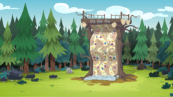 Size: 538x304   Tagged: safe, screencap, equestria girls, legend of everfree, climbing wall, scenery