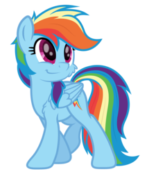Size: 4000x4446 | Tagged: safe, artist:djdavid98, artist:pirill, rainbow dash, pony, absurd resolution, cheek fluff, chest fluff, cute, dashabetes, fluffy, simple background, solo, transparent background, vector