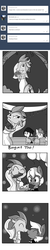 Size: 1650x8250 | Tagged: safe, artist:tjpones, oc, oc only, oc:dragon wife, oc:treasure trotonopolis, dragon, earth pony, pony, horse wife, :t, ask, balloon, boop, bouquet, bouquet toss, bowtie, cake, clothes, comic, cute, dragoness, dress, eyes closed, female, flower, food, gem, grayscale, male, mare, marriage, monochrome, noseboop, nuzzling, ocbetes, photo, scrunchy face, simple background, stallion, suit, tumblr, wedding, wedding cake, wedding dress, wedding photo, wedding veil, white background