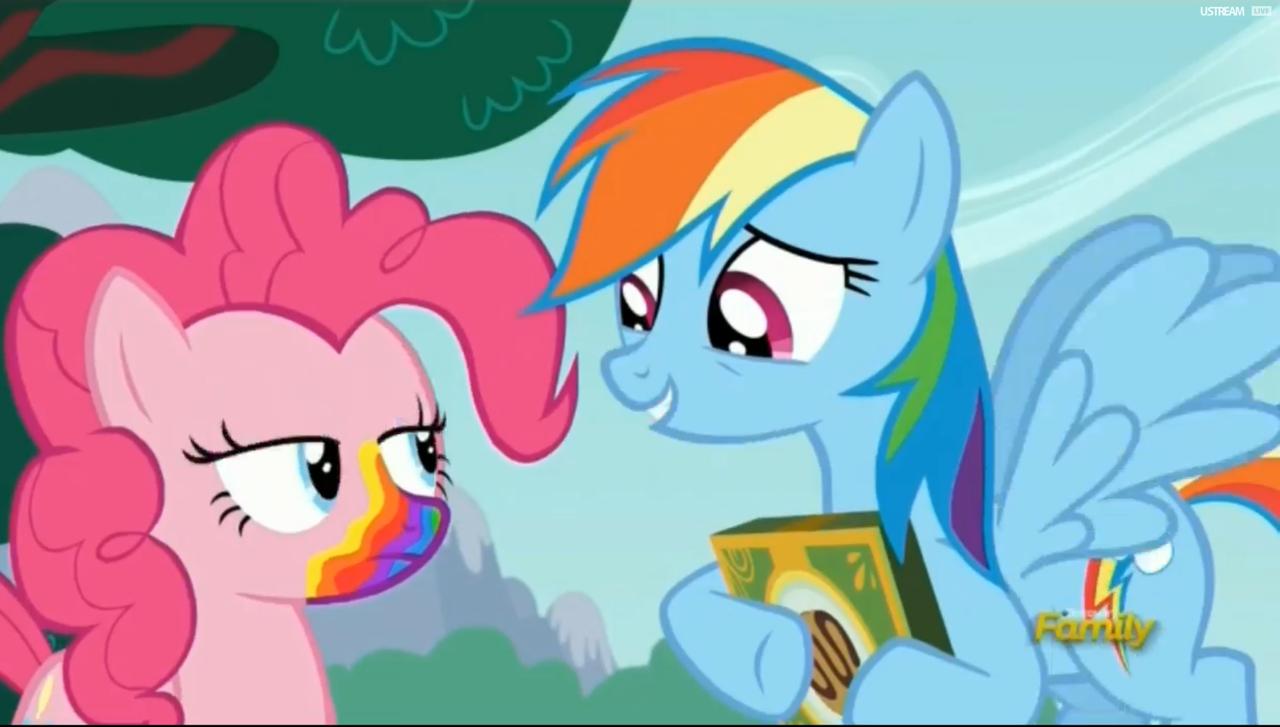 Long muzzle pony