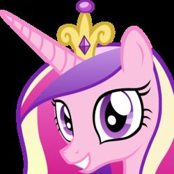 Size: 1024x1024 | Tagged: safe, artist:badumsquish, derpibooru exclusive, princess cadance, alicorn, pony, derpibooru, :d, badge, best pony, bust, concept art, cute, cutedance, derpibooru badge, female, grin, happy, looking at you, meta, portrait, simple background, smiling, solo, squee, transparent background, vector