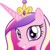 Size: 1024x1024 | Tagged: safe, artist:badumsquish, derpibooru exclusive, princess cadance, alicorn, pony, derpibooru, :d, badge, best pony, bust, concept art, cute, cutedance, derpibooru badge, female, grin, happy, looking at you, meta, portrait, simple background, smiling, solo, squee, transparent background, vector