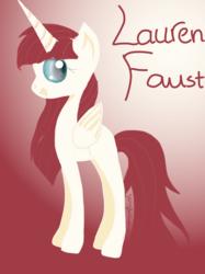 Size: 1909x2557 | Tagged: safe, artist:jenniferchaulam, oc, oc only, oc:fausticorn, alicorn, pony, alicorn oc, cute, faustabetes, solo