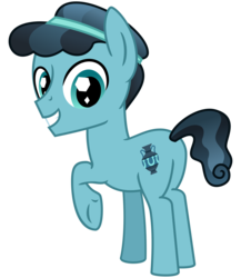 Size: 2600x3000 | Tagged: artist:cheezedoodle96, changeling, crystal hoof, crystal pony, cute, disguise, disguised changeling, happy, looking at you, looking back, plot, pony, raised hoof, safe, simple background, smiling, solo, svg, .svg available, the times they are a changeling, thorax, transparent background, vector