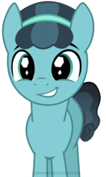 Size: 4208x7000 | Tagged: absurd res, artist:justisanimation, changeling, crystal hoof, crystal pony, disguise, disguised changeling, pony, safe, smiling, solo, the times they are a changeling, thorax
