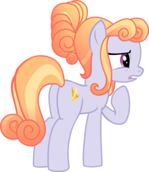 Size: 3022x3500 | Tagged: safe, artist:limedazzle, amber laurel, crystal pony, pony, the times they are a changeling, background pony, inkscape, open mouth, plot, raised hoof, show accurate, simple background, solo, transparent background, vector