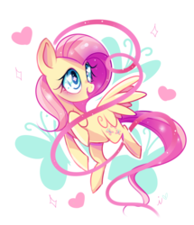 Size: 800x929   Tagged: safe, artist:ipun, fluttershy, pegasus, pony, blushing, cute, female, heart, heart eyes, mare, open mouth, shyabetes, simple background, smiling, solo, white background, wingding eyes
