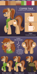 Size: 960x1920 | Tagged: safe, artist:wiggles, oc, oc only, oc:coffee talk, ask king sombra, reference sheet, solo