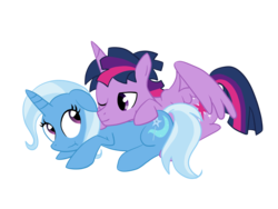 Size: 1600x1200 | Tagged: alicorn, artist:trixeed, dusk shine, female, half r63 shipping, male, pony, prince dusk, rule 63, safe, shipping, simple background, straight, transparent background, trixie, trixshine, twilight sparkle, twilight sparkle (alicorn), twixie, vector