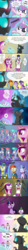 Size: 850x7625 | Tagged: safe, artist:phuocthiencreation, princess cadance, princess flurry heart, shining armor, spike, starlight glimmer, sunburst, thorax, twilight sparkle, alicorn, changeling, pony, the times they are a changeling, :p, :t, armor, bait and switch, barrier, c:, changeling feeding, comic, crying, crystal guard, crystal guard armor, cute, dark comedy, dilated pupils, eyes closed, eyes on the prize, floppy ears, for science, happy, heart, horrified, levitation, licking, licking lips, magic, meme, not what it sounds like, open mouth, question mark, science, science is so fascinating, scrunchy face, shivering, shrunken pupils, smiling, sweatdrop, tail wag, telekinesis, tongue out, twilight sparkle (alicorn), wavy mouth, wide eyes, writing