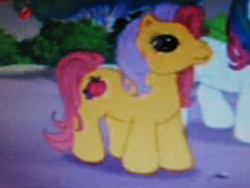 Size: 2272x1704   Tagged: safe, screencap, apple spice, bowtie (g3), earth pony, pony, friends are never far away, g3, duo, photo