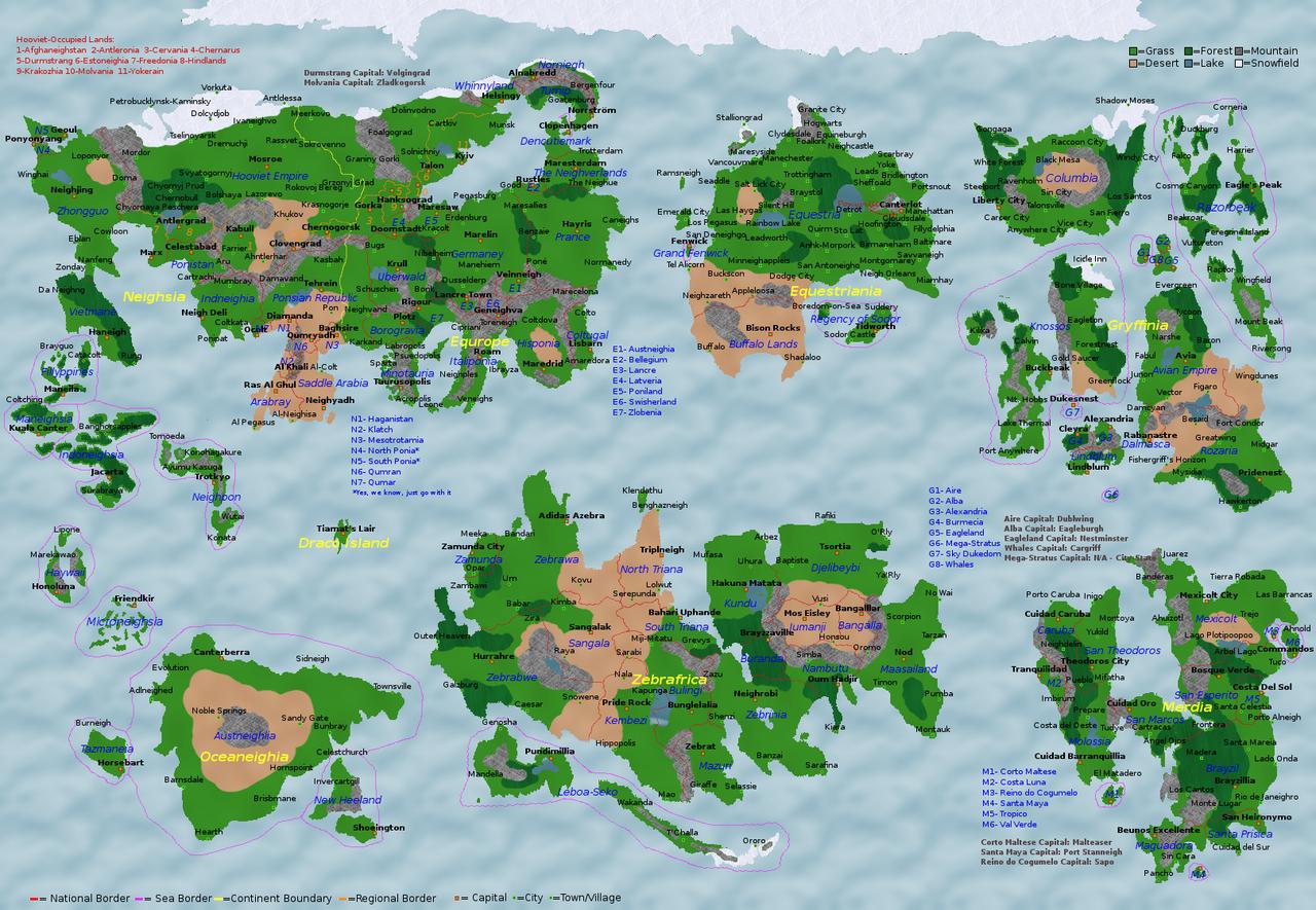 Map World Oil Reserves%0A              artist lz      equestria  map  pony pov series  safe