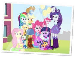 Size: 1720x1300 | Tagged: safe, artist:dm29, applejack, flash sentry, fluttershy, pinkie pie, rainbow dash, rarity, twilight sparkle, earth pony, pegasus, pony, unicorn, equestria girls, balloon, boots, bowtie, bracelet, canterlot high, clothes, colt, cowboy boots, cowboy hat, cute, dashabetes, derp, diapinkes, diasentres, eyes closed, female, filly, filly twilight sparkle, flashlight, floating, hat, high heel boots, holding a pony, human ponidox, humane six, jackabetes, jealous, jewelry, julian yeo is trying to murder us, kneeling, male, mane six, ooh, pony pet, rainbow derp, raribetes, self ponidox, shipping, shyabetes, simple background, sitting, skirt, sleeping, smiling, snuggling, socks, square crossover, straight, then watch her balloons lift her up to the sky, tongue out, transparent background, twiabetes, vector, younger