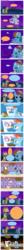 Size: 1262x13402 | Tagged: safe, artist:thelastgherkin, applejack, bon bon, fluttershy, gilda, lyra heartstrings, rainbow dash, sweetie drops, trixie, griffon, pony, unicorn, bar, comic, female, glixie, goth, lasso, lesbian, locker, lyrabon, mare, shipping