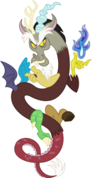 Size: 623x1200 | Tagged: safe, artist:seahawk270, discord, draconequus, fire, inkscape, male, simple background, solo, transparent background, vector