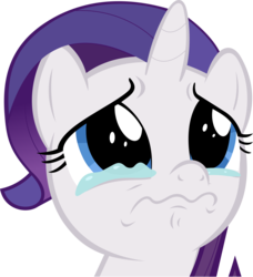 Size: 2100x2303 | Tagged: safe, artist:bluetech, rarity, the cart before the ponies, .svg available, bust, crying, female, filly, filly rarity, inkscape, lip quiver, portrait, simple background, solo, transparent background, vector, waterworks activated