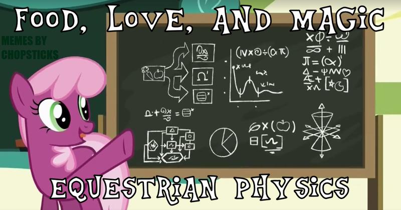 1219909 - chalkboard, cheerilee, graph, light cone, math, pie chart