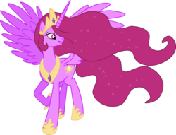 Size: 1024x782 | Tagged: safe, artist:blah23z, berry punch, berryshine, princess celestia, alicorn, alicornified, berrycorn, race swap, recolor, solo