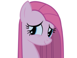 Size: 3000x2250 | Tagged: artist:vexorb, cute, cuteamena, party of one, pinkamena diane pie, pinkie pie, safe, simple background, smiling, solo, transparent background, vector