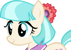 Size: 13346x9369 | Tagged: safe, artist:cyanlightning, coco pommel, made in manehattan, .svg available, absurd resolution, cocobetes, collar, cute, female, simple background, solo, transparent background, vector