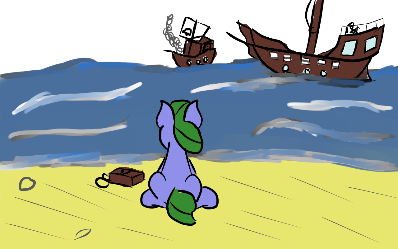 1250140 A Foal S Adventure Artist Saria The Frost Mage Bag Beach Blank Flank Child Cyoa Earth Pony Female Filly Oc Clover Patch