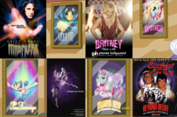 Size: 1600x1058 | Tagged: safe, screencap, britneigh spears, trapeze star, pony, viva las pegasus, britney spears, cirque du soleil, comparison, criss angel, ponified celebrity, siegfried and roy
