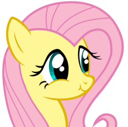 Size: 6000x5950 | Tagged: safe, artist:justisanimation, fluttershy, absurd resolution, bust, cute, flash, hasbro, las pegasus scrunchyshy, portrait, redraw, scrunchy face, shyabetes, simple background, transparent background, vector