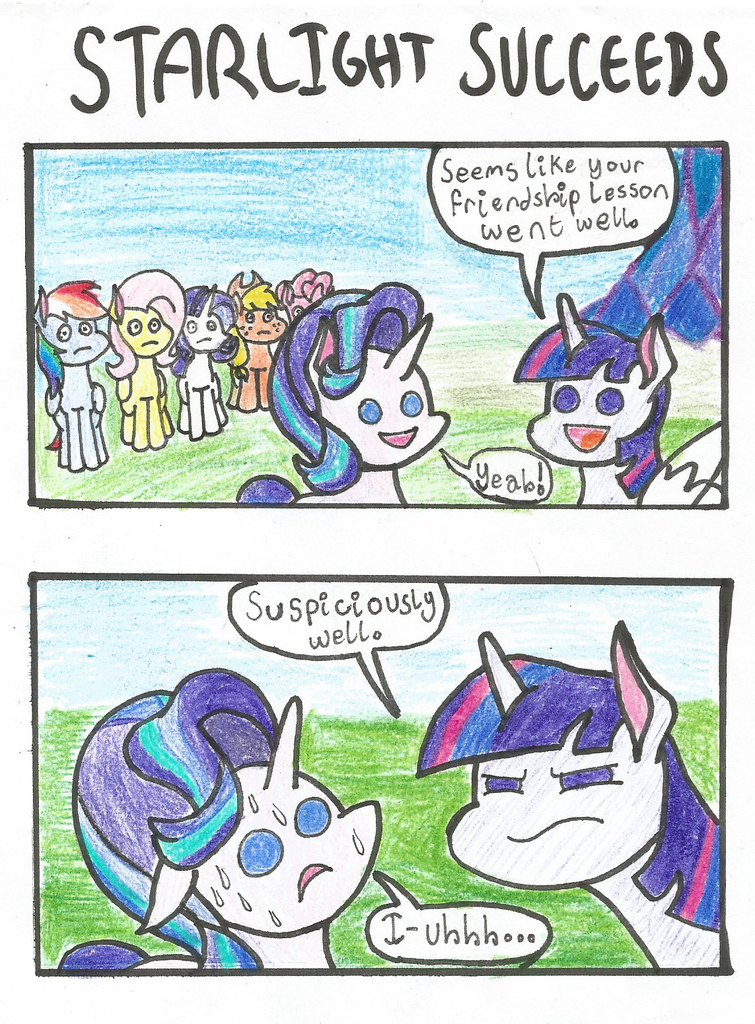 mlp lesson zero alternate ending