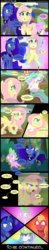 Size: 1000x5150 | Tagged: artist:coltsteelstallion, big macintosh, celestimac, comic, comic:a love letter, creeper, dialogue, earth pony, fluttermac, fluttershy, levitation, love triangle, magic, male, misspelling, now you fucked up, oh shit, pony, princess celestia, princess luna, safe, shipping, smarty pants, spike, stallion, straight, telekinesis, this will end in tears and/or a journey to the moon, this will end in tears and/or death, what a twist