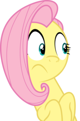 Size: 3000x4544 | Tagged: safe, artist:uxyd, fluttershy, buckball season, :/, absurd resolution, female, simple background, solo, transparent background, vector