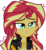 Size: 2468x2692 | Tagged: safe, artist:anhel032015, sunset shimmer, equestria girls, friendship games, clothes, female, inkscape, leather jacket, simple background, solo, transparent background, vector