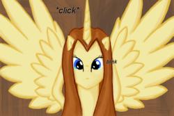 Size: 600x400   Tagged: safe, artist:cybersquirrel, oc, oc only, oc:morts, alicorn, pony, alicorn oc, female, solo, tumblr