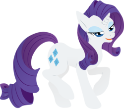 Size: 1024x903 | Tagged: safe, artist:gracewolf, rarity, female, lineless, raised hoof, raised leg, simple background, solo, transparent background