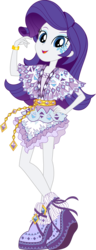Size: 4594x11934 | Tagged: absurd res, .ai available, alternative cutie mark placement, artist:sugar-loop, boho, boots, bracelet, camp everfree outfits, camp fashion show outfit, clothes, dress, equestria girls, high heel boots, jewelry, legend of everfree, open mouth, rarity, safe, simple background, skirt, smiling, solo, .svg available, transparent background, vector