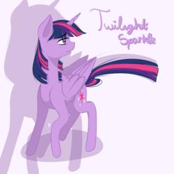 Size: 5000x5000 | Tagged: safe, artist:lavasokawaii, twilight sparkle, alicorn, pony, absurd resolution, simple background, solo, twilight sparkle (alicorn)